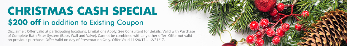 $200 off Christmas Special
